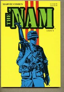 GN/TPB The 'Nam Volume One 1 collected vf/nm 9.0 1987 Marvel War Michael Golden