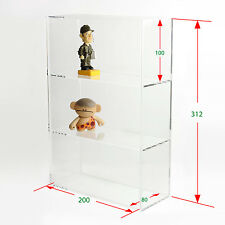 1 High Gloss Acrylic Display Box / Case with Sliding Door DB018A-01PC