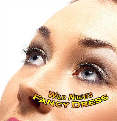 70/'s robe de fantaisie accessoires # diamonte Noir Cils