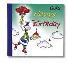 Oups Minibuch - Happy Birthday von Kurt Hörtenhuber (2012, Gebundene Ausgabe)