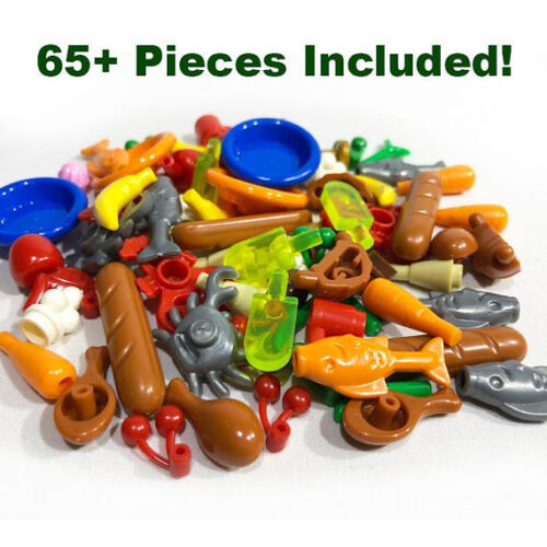 Toy Food Accessory Pack Brick Compatible for Major Brands