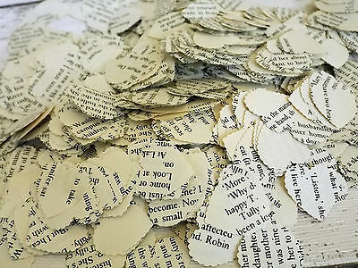 300x Romantic Vintage Paper Heart Shaped Wedding Table Decoration/Confetti