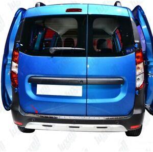 Dacia-Dokker-2012Up-Chrome-Rear-Bumper-Protector-Scratch-Guard-S-Steel