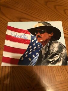 RICHARD PETTY SIGNED AUTOGRAPHED 8X10 PHOTO NASCAR HALL OF FAME 2010 USA KING 1