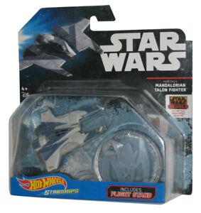 Star Wars Rebels Hot Wheels Fenn Rau's Mandalorian Talon Fighter Vehicle Toy