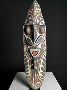 Large Yam Cult House Mask, Washkuk Hills Region, Papua New Guinea, PNG, Oceanic