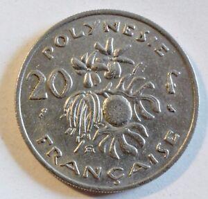 French-POLYNESIA-Australia-20-Francs-1976-VZ-until-Stgl