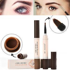 8ea41de1c795 Details about Eye Brow Dye Cream Pencil Waterproof Brown Tint Paint Henna  Eyebrow Cosmetic Kit