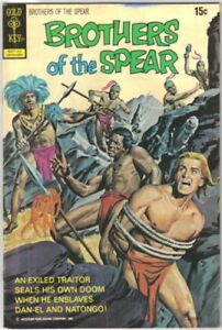 Brothers-of-the-Spear-Comic-Book-3-GOLD-KEY-1972-FINE