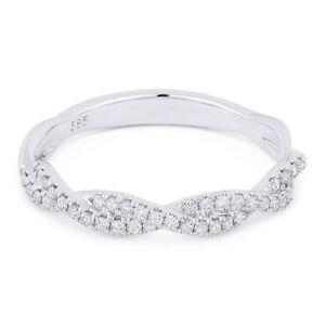 0-25-ct-Round-Diamond-Anniversary-Band-Stackable-14k-White-Gold-Right-Hand-Ring