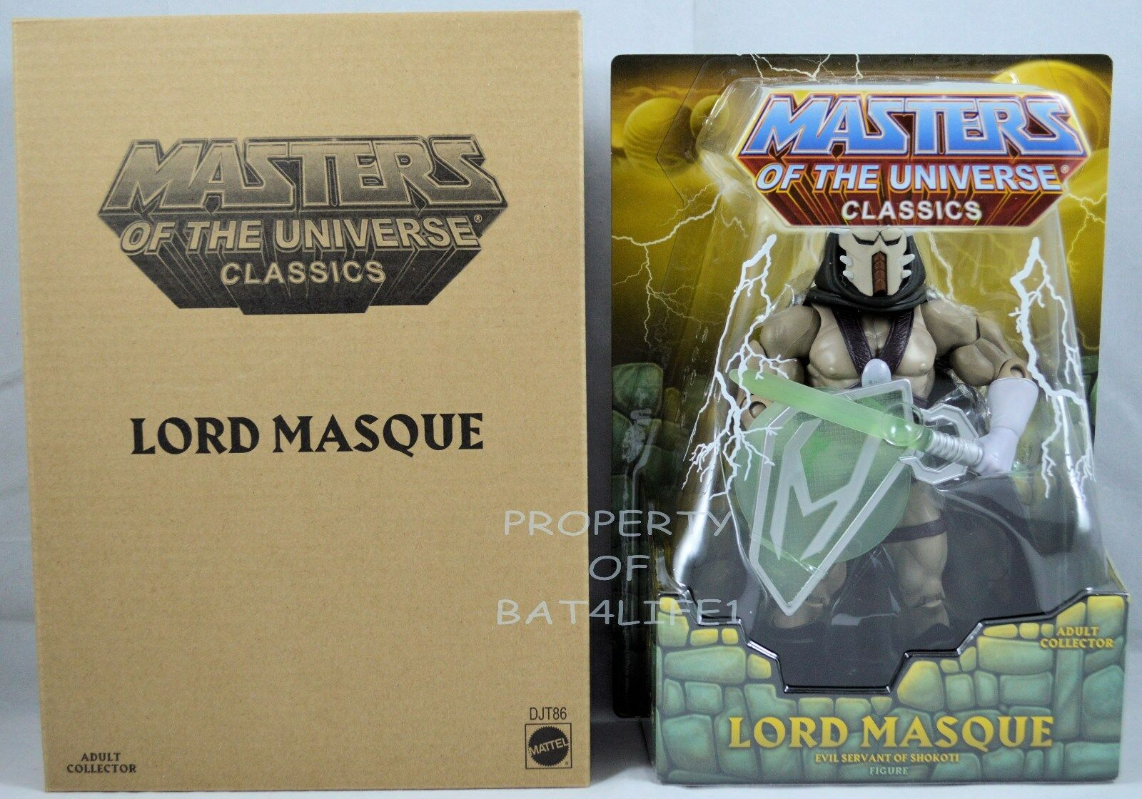 MASTERS OF THE UNIVERSE CLASSICS LORD MASQUE NEW
