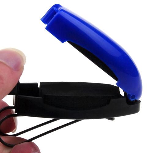 Brillenhalter Sonnenbrille Ticket Clip Halter Klammer für Auto Heiß!