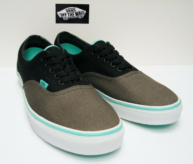 8b690a2a6a VANS Era 2 Tone Charcoal Black Biscay Green Size 12 for sale online ...