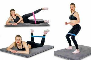 Resistance-Bands-Yoga-Exercise-Gym-Straps-Pilates-Stretch-Physio-UK-5X-Loop-Set