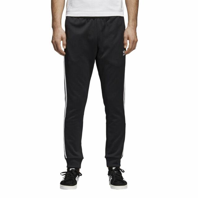 adidas Originals Superstar Trackpants Black White Cw1275 SST TP Mens Sz L