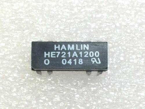 HE721A1200 HAMLIN RELAY REED SPST 500MA 12V 2 PIECES