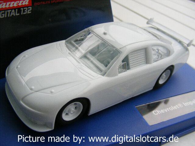 Carrera Digital 132 30494 Nascar Chevrolet Impala White USA