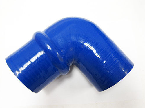 "OBX 90 Degree Silicon Elbow Hump Coupler 2.5/"" Blue Hose"