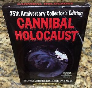 CANNIBAL-HOLOCAUST-Collector-039-s-Edition-LIMITED-BANNED-POSTER-Ruggero-Deodato