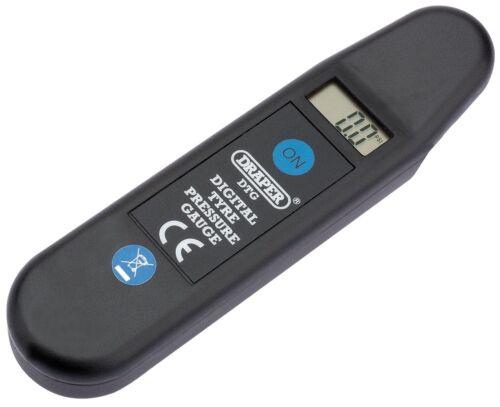 GENUINE DRAPER Digital Tyre Pressure Reader01071