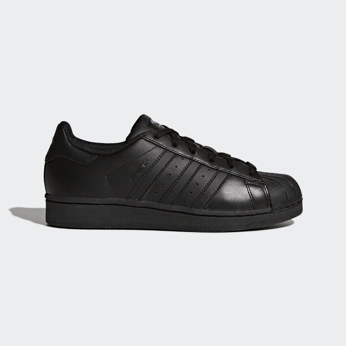 Adidas Superstar Womens Trainer shoes Black Size 4.5 RRP  -