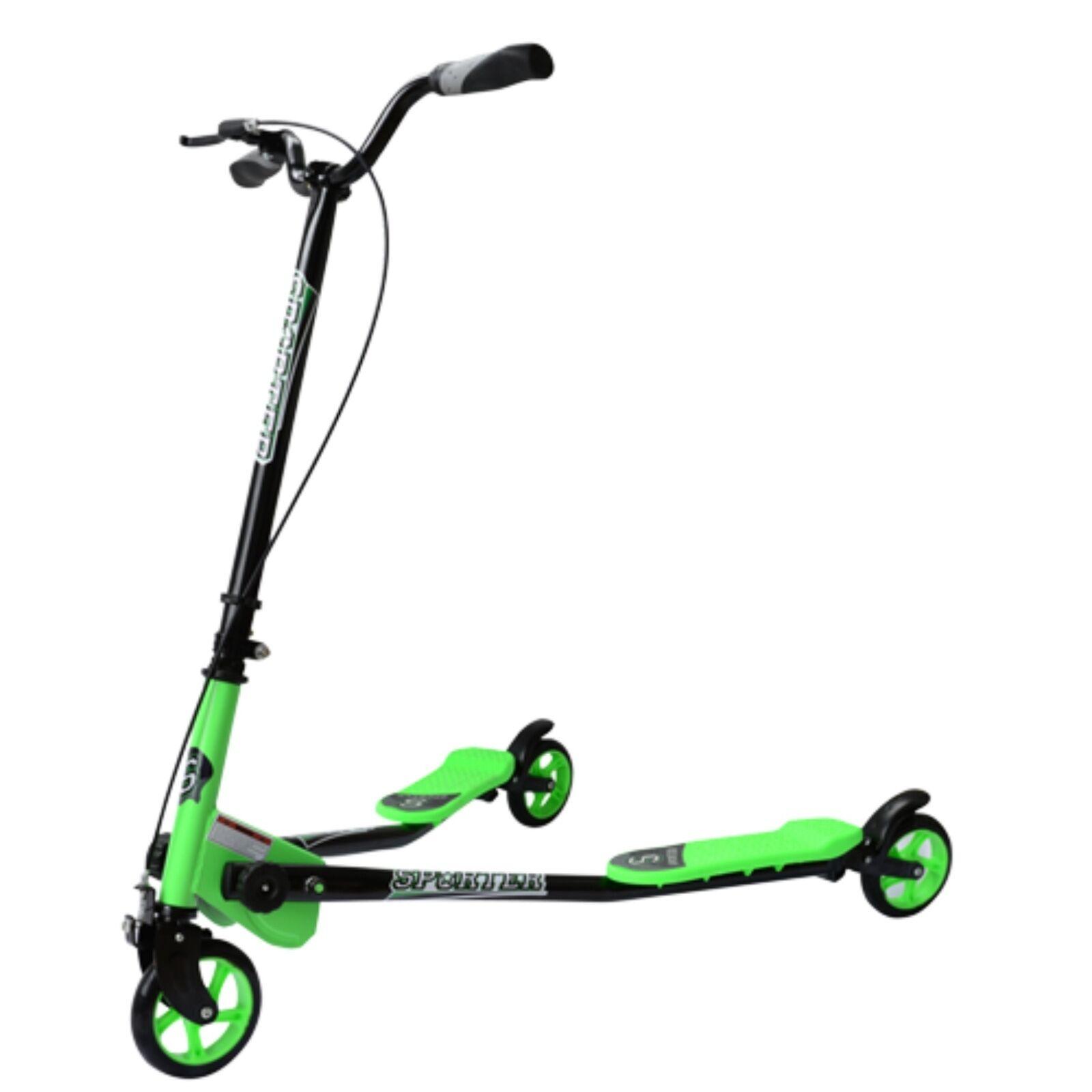 Kids 3 wheel slider drifter drifter drifter scooter 3 wheel steering scooter size large 8yrs + dd081c