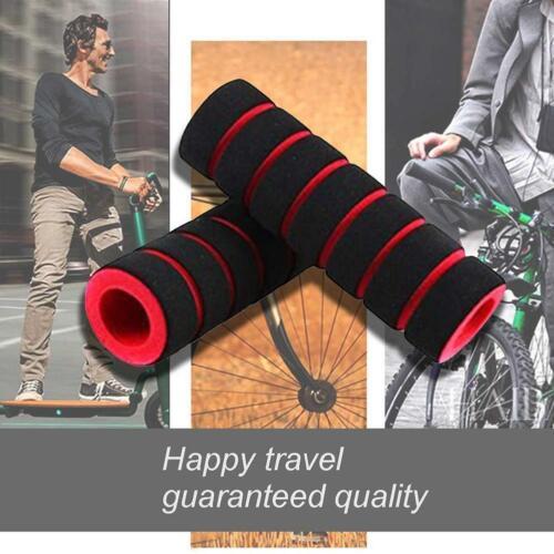 1 Pair Sponge Foam Bicycle Handle Bar Grip Cover For Mountain Road Bike I9H8