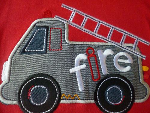 "BIB SET  6//12 FREE P/&P LILY /& JACK /""FIRE/"" TEE,SHORTS 12//18 18//24  MONTHS"