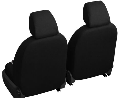 ECO LEATHER FRONT UNIVERSAL SEAT COVERS FITS TOYOTA AURIS HYBRID 2014 ONWARDS