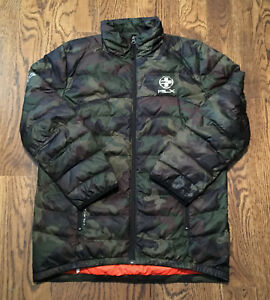 RLX Ralph Lauren Down Jacket Youth Large Camouflage ...