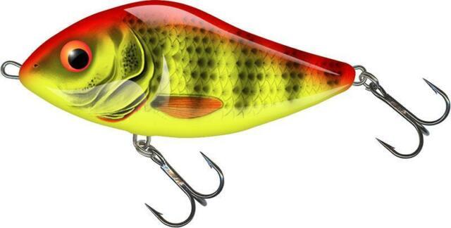 Pike Zander Lure Plug 10cm Predator Fishing Salmo Fatso Sinking Jerkbait