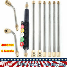 Pressure Washer Extension Wands Power Washer Lance With 72 Nozzle Cleaning Tool