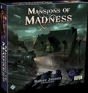 Mansion Of Madness Horrific Journeys Expension FFG Brand New Sealed Board Game