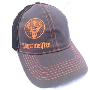 2d755f394aa Image is loading Jagermeister-Snapback-Cap-Mesh-Trucker-Baseball-Hat-Dome-