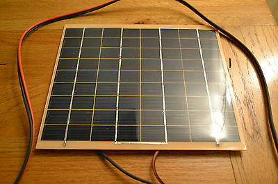 Ultra Lightweight 18v 5W Solar Panel -Ideal for 12v Battery Charging maintainer.