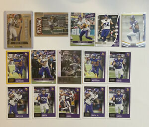 Minnesota-Vikings-Football-Card-Alexander-Mattison-Adam-Thielen-Randy-Moss-Prizm