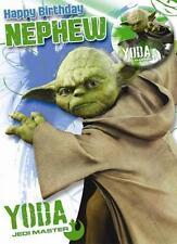 Star Wars Yoda Age 6 6th Birthday Card With Badge Ebay