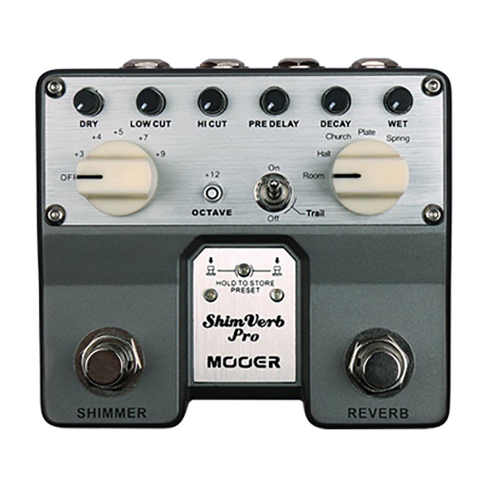 Mooer Twin Series Shim Verb Pro Digital Reverb Guitar Effects Pedal
