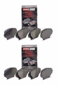 STOPTECH-2015-2016-BMW-M3-M4-F80-F82-F83-FRONT-AND-REAR-SPORT-BRAKE-PADS-SET