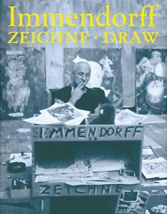 Fachbuch-Joerg-Immendorff-ZEICHNE-DRAW-statt-78-Euro-REDUZIERTES-NEUBUCH