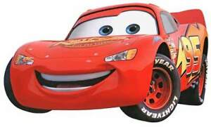 Image Is Loading Walt Disney Pixar CARS Lightning McQueen Racer Window