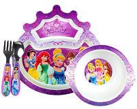 Disney Princess-microwavable Plate Set