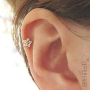 1-Pc-Cartilage-Earring-Helix-Earring-Helix-Piercing-Tragus-Star-Flower-Earring