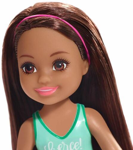 BARBIE CLUB CHELSEA DOLL FXG79 FIERCE TIGER TOP NEW IN BOX BRUNETTE GIRL