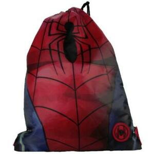 Personalised SPIDERMAN//SPIDER Style PE//School//Swimming//Bag *ANY NAME*