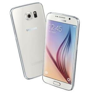 Blanc-Samsung-Galaxy-S6-SM-G920A-32-Go-5-1-034-Debloque-d-039-usin-Smartphone-TelePhone