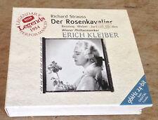 RICHARD STRAUSS der rosenkavalier KLEIBER 2000 GERMAN DECCA 3-CD + BOOKLET