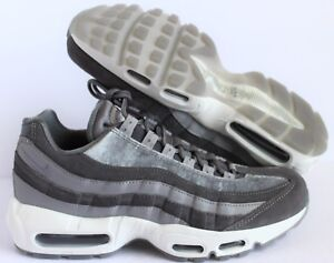 huge discount 5a51a c25b9 Image is loading Nike-Women-Air-Max-95-LX-GUNSMOKE-WHITE-