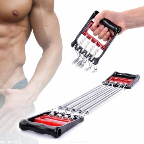 Chest Expander Professional Strength Chest Pull 5 SPRING Fitness