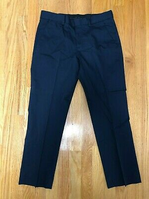 EXPRESS Photographer Dress Pant Slim Fit Flat Front Charcoal Gray 30 x 30 $69.90